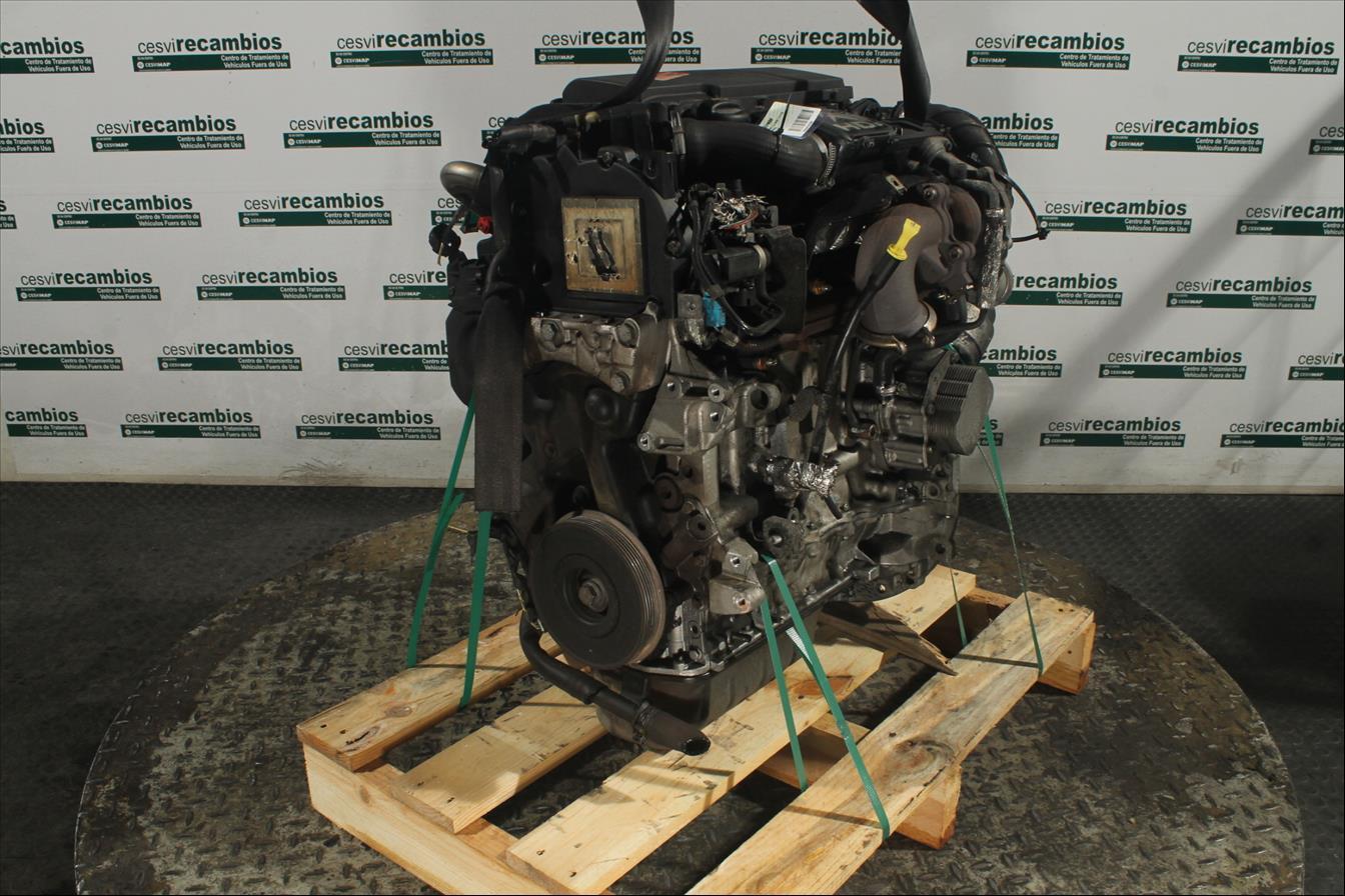 Motor ohne Anbauteile Citroen C3 FC Diesel CS39367MD