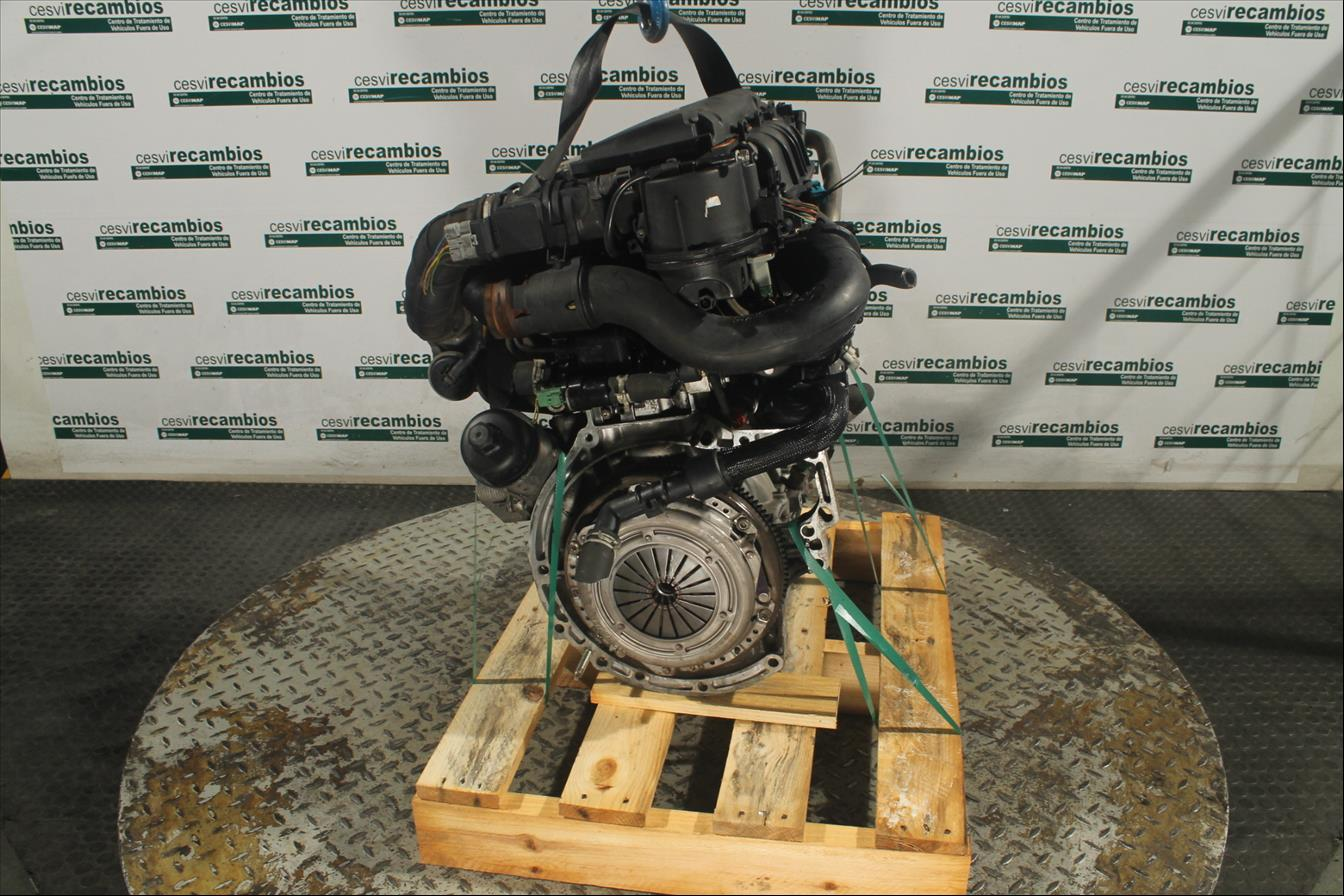 Motor ohne Anbauteile Citroen C3 FC Diesel CS40940MD
