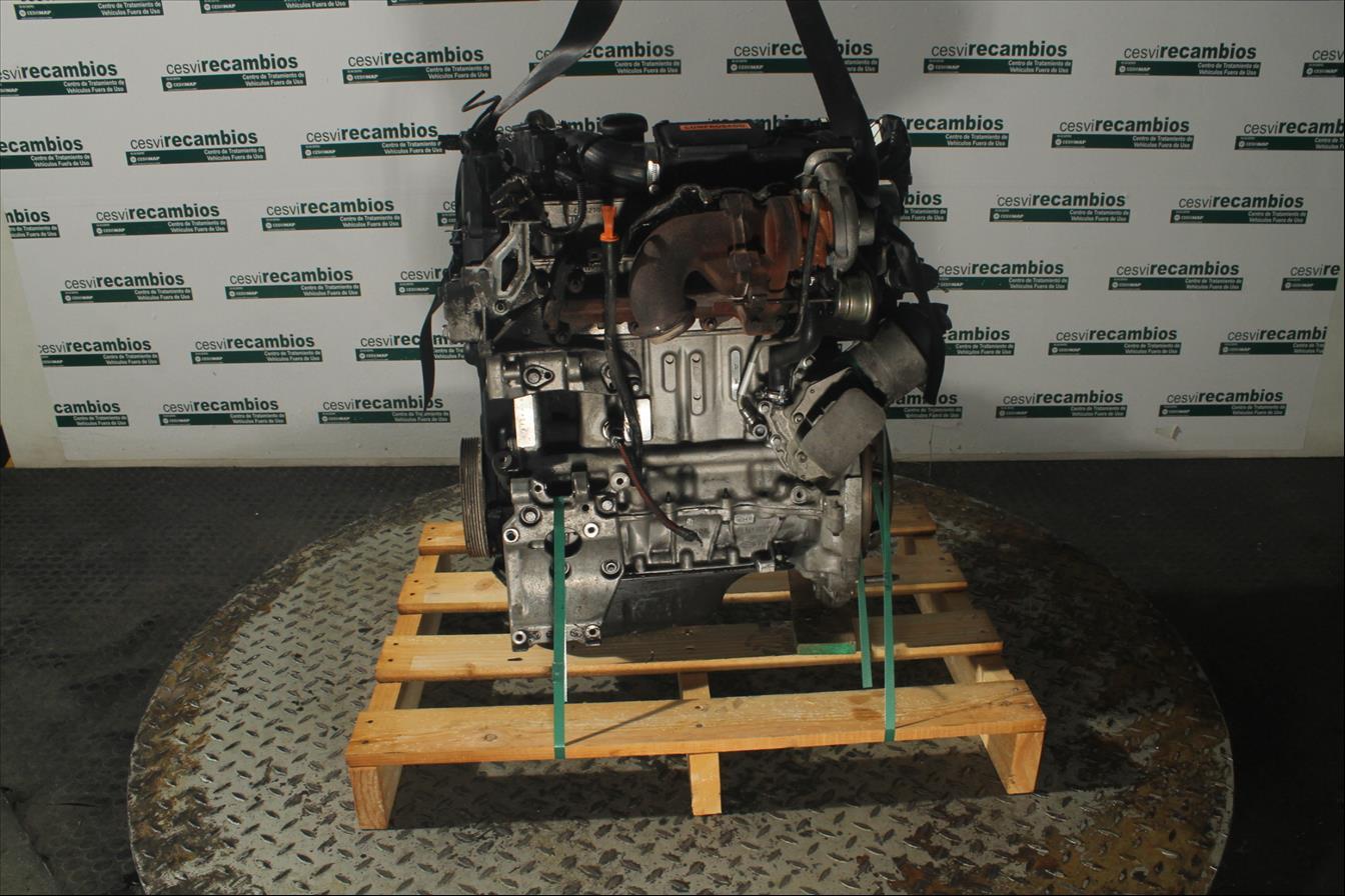 Motor ohne Anbauteile Citroen C3 II A51 Diesel CS43515MD