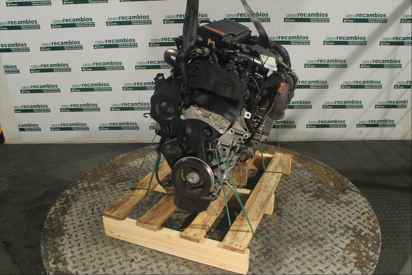 Motor ohne Anbauteile Citroen C3 II A51 Diesel CS43680MD